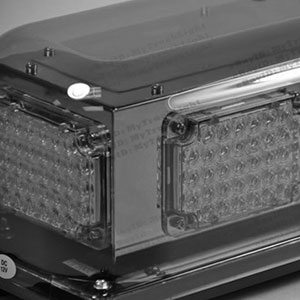 Image showing clear box for electronic lighting