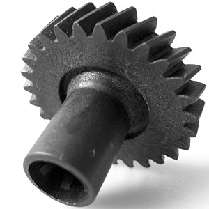 Image showing high precision moulded lubricated gear wheel
