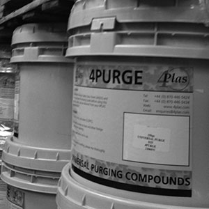 Image showing convenient large tub of 4PURGE® compound